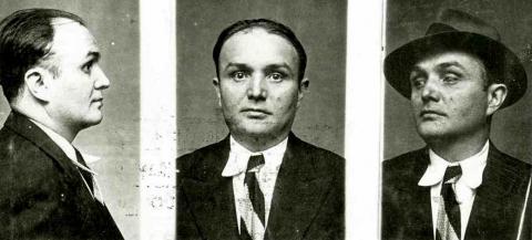 Fotografia di Ugo Fedeli dagli archivi di polizia